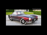 1955 Mercedes-Benz 300SL Gullwing Coupe (переделанный)